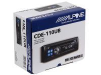 Магнитола CD/MP3 Alpine CDE-110UB