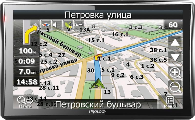 Купить Навигатор Prology iMAP-727MG (карта Навител), купить навигатор